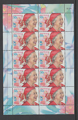 Australia 2005 Queens Birthday Sheetlet MNH, Free Postage!