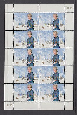 Australia 2000 Queens Birthday Sheetlet MNH, Free Postage!