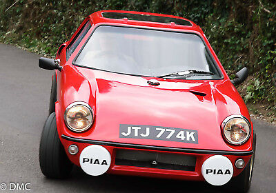 1971 GTM Coupe (Mini based) Red. Cat 2 Historic Road Rally car. 1310 A series