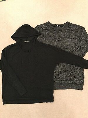 Maternity Bundle GAP Jumper Size M and Mothercare Hooded Top Size S