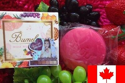 Authentic Thai Bumebime Mask Whitening Skin  Natural Soap 100g ! CANADIAN SELLER