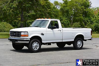 1997 Ford F-250 Regular Cab 1997 Ford F250 XL 4x4 Regular Cab 59k 7.3L Powerstroke Turbo Diesel F350