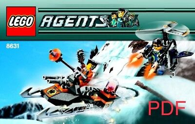 LEGO Agents (8631) Instruction Manuel PDF Download