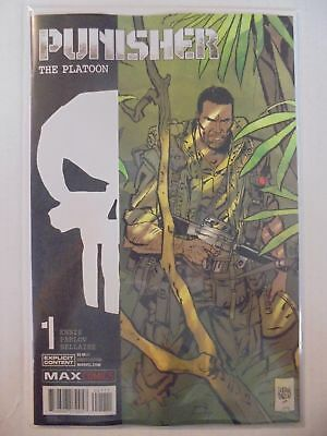 Punisher: The Platoon #1 Marvel NM Comics Book