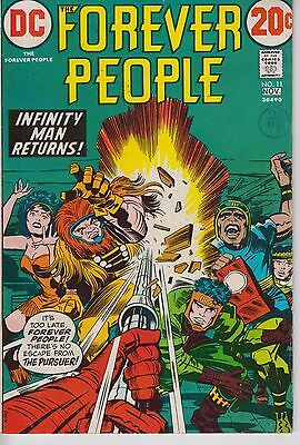 Forever People 11 - 1972 - Kirby - Very Fine +