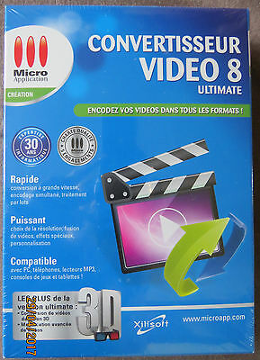Neuf sous blister Convertisseur Video Ultimate 8 PC - Micro Application