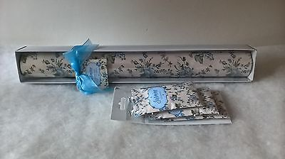 5 Scented Perfumed Drawer Liners Sheets Paper With 3 Matching Scented Sachets