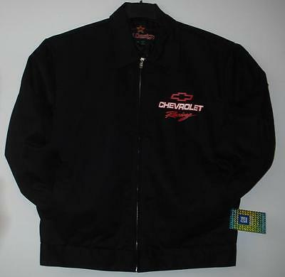 Size S Authentic Chevrolet Racing Mechanic Printed  Jacket New Jh Design  Small