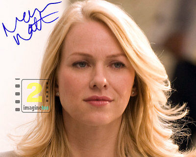 "Naomi Watts  10""x 8"" Signed Color PHOTO REPRINT"