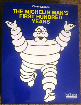 The Michelin Man's First Hundred Years BIBENDUM 1997 Advertising Book NEW/SEALED