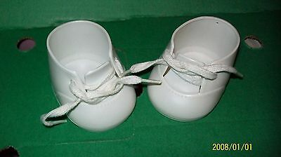 fits CABBAGE PATCH KIDS DOLL shoes WHITE BABY  from my child dolls