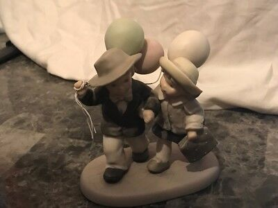 Kim Anderson NBM Porcelain Friday's Child Is Loving Giving Sharing Friends 1997