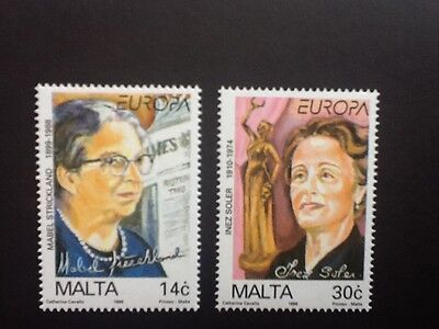Malta 1996 Europe set   Mint  NH Scott No 886 - 887  VF