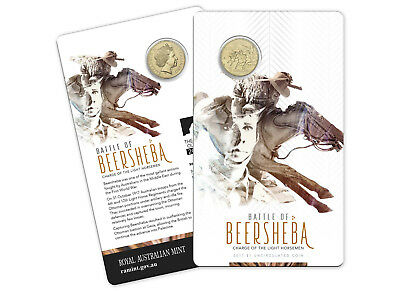 2017 Battle of Beersheba $1 Coin - Charge of the Light Horsemen