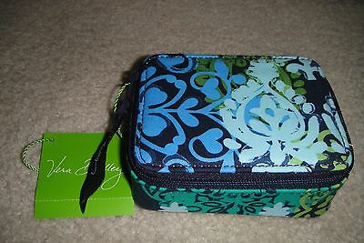 "Vera Bradley Travel Pill Case ""caribbean Sea"" Nwt!  Pretty   Pattern! $19"