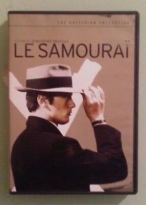 the criterion collection   LE SAMOURAI    DVD  includes insert