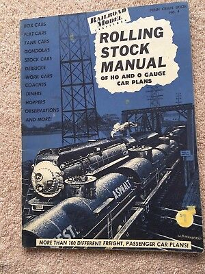 Rolling Stock Manual Ho O Gauge Car Plans Penn Craft Railroad Model Craftsman