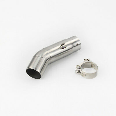 Exhaust Middle Pipe Exhaust Mid Tube Connecting Pipe Link Tube For gxsr 2011-13