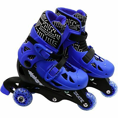 Elektra Tri to In Line Blue Boot Skates - Size 9-12 -From the Argos Shop on ebay