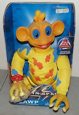 "New!! Vtg LOST IN SPACE Trendmasters ""BLAWP"" Toy TALKING ALIEN Color Change Skin"
