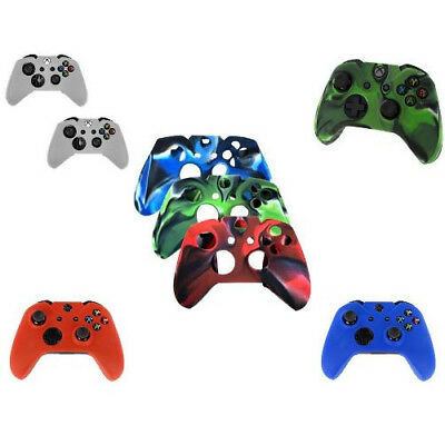 Soft Silicone Protector Skin Controller Case Cover For Microsoft Xbox One Game