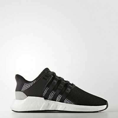 New Men's Adidas Originals Eqt Support 93/17 Boost Shoes  [By9509]  Black/white