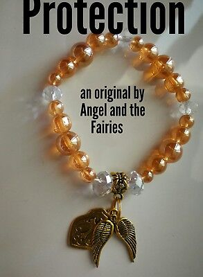 Code 423 LIGHT WORKER Earth Angel Aura Bead Protection Bracelet Virtue Certified