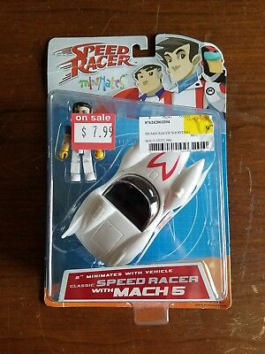 Speed Racer Mini Mates Classic Speed Racer with Mach 5 New in package