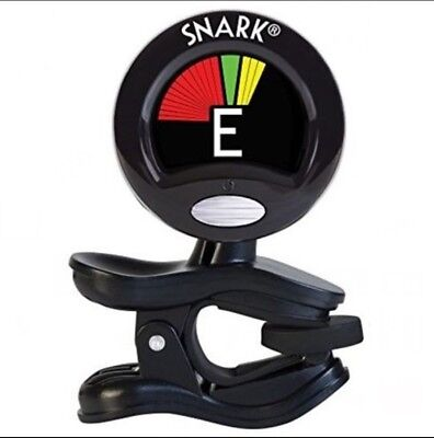 Snark SN5X Chromatic Black Tuner for Guitar Bass Violin Ukulele Banjo Clip On