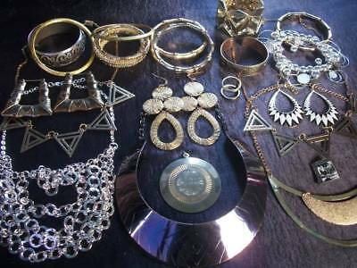 Lot Of Vintage/now Costume Jewelry Egyptian Inspired Pieces Nice