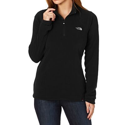 THE NORTH FACE Women's Glacier 1/4 Zip 100WT Fleece Jacket TNF Black XS,S,M,L,XL