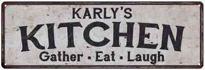 KARLY'S Kitchen Rustic Look Chic Sign Home Décor Gift 6x18 Sign 61804853