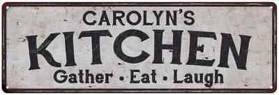 CAROLYN'S Kitchen Rustic Look Chic Sign Home Décor Gift 6x18 Sign 61805292
