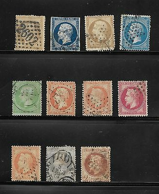 1852 Onwards Collection Of France Stamps Used
