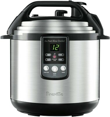 NEW Breville BPR650BSS The Fast Slow 6L Pressure Cooker