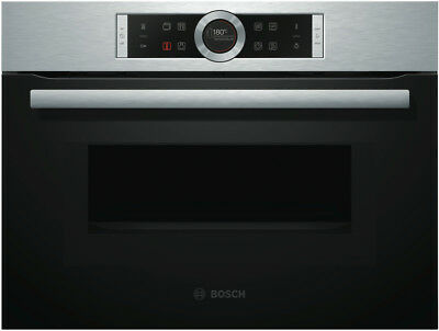 NEW Bosch CMG633BS1B 60cm Combination Microwave Oven