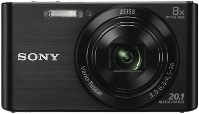 NEW Sony DSCW830B Cybershot W830 Black Digital Camera