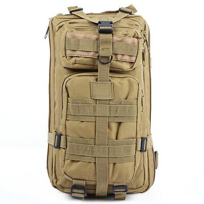 30L Outdoor Oxford 3P Tactical Backpack Rucksacks for Camping Traveling Hiking