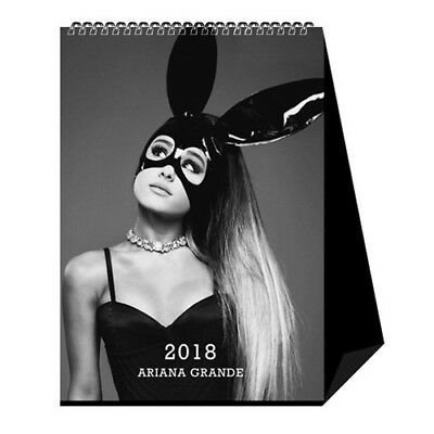 Ariana Grande 2018 Desktop Table Calendar