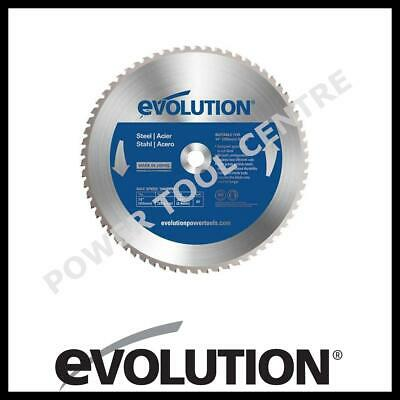 Evolution 66TBLADE Raptor 355mm x 66T TCT Steel Cutting Saw Blade Cold Cut EVO35