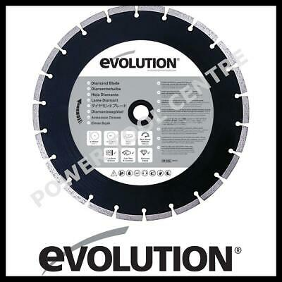 Evolution RAGE305 HTC Diamond Cutting Blade 305mm for Masonry Disc Cutter EVOEDC