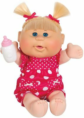 Cabbage Patch Kids Babies Doll Children Cuddly Blonde Baby Girl with Pigtails 3+