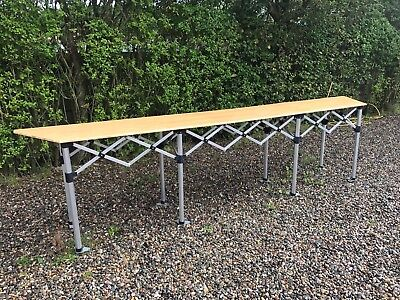 4m Pop Up Trader Counter Heavy Duty Gazebo Market Stall Table
