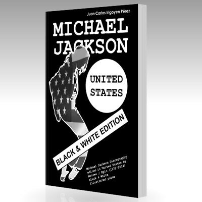 Book - MICHAEL JACKSON - United States Discography - Black & White Edition
