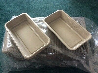 250 x Disposable Oblong Dishes - Brand New