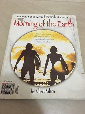 Morning Of The Earth : Book RARE Albe Falzon MOTE RARE KIRRA 1970 Surfing Surf