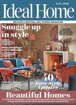 Ideal Home Magazine November 11/2017 Ideal Home Show Complimentary Ticket Curren