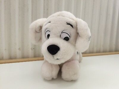 """Penny Dalmatian pup from 101 Dalmations 7"""" plush by Disney Store"""