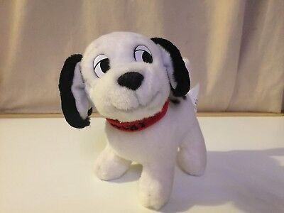 """Lucky Dalmatian pup from 101 Dalmations 7"""" plush by Disney Store"""