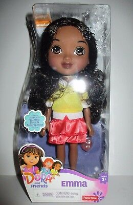 "Dora and Friends 8"" Emma Doll Fisher Price NIB"